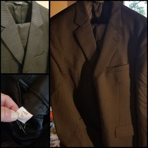 Mens suit jacket and slacks